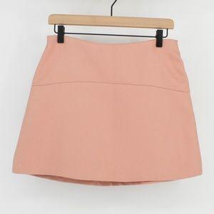 Zara Blush Pink Mini Skirt Sz M